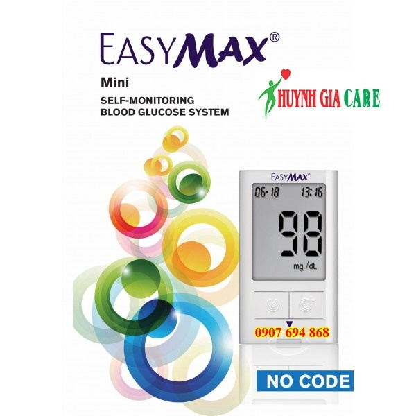may do duong huyet easymax